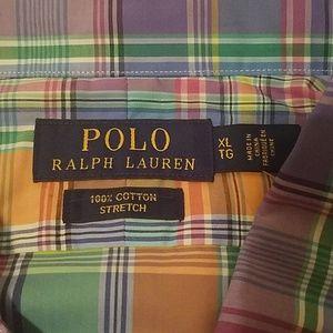 Polo by Ralph Lauren Shirts - NWT-Polo Ralph Lauren, XL, Plaid Button Down Shirt